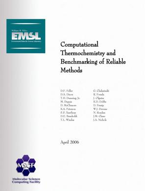 Primary view of object titled 'Computational Thermochemistry and Benchmarking of Reliable Methods'.
