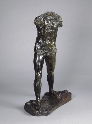 Primary view of object titled 'Walking Man'.