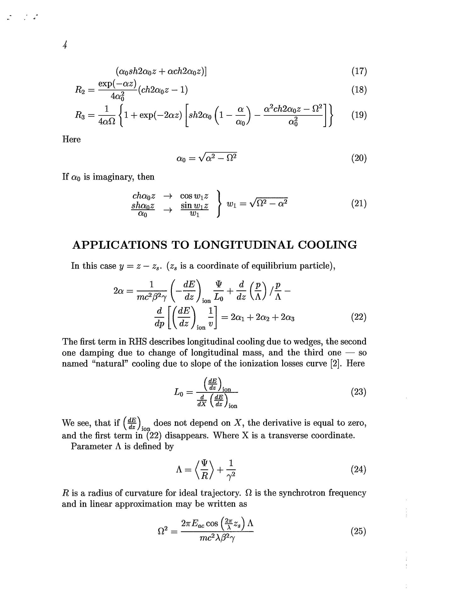 APPLICATION OF MOMENTS METHOD TO DYNAMICS OF MUON COOLING SYSTEM.                                                                                                      [Sequence #]: 4 of 6