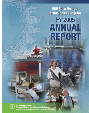 Primary view of object titled 'DOE Solar Energy Technologies Program FY 2005 Annual Report'.