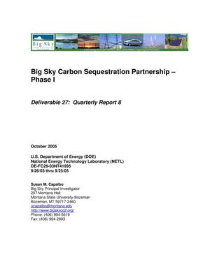 Primary view of object titled 'Big Sky Carbon Sequestration Partnership--Phase I'.