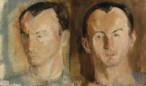 Double Portrait of Frank O'Hara