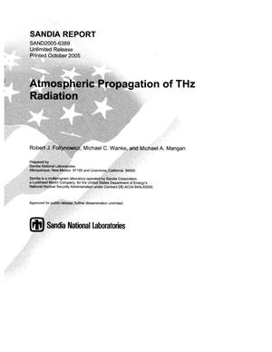 Primary view of object titled 'Atmospheric propagation of THz radiation.'.