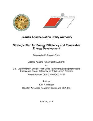 Primary view of object titled 'Jicarilla Apache Utility Authority Renewable Energy and Energy Efficiency Strategic Planning'.