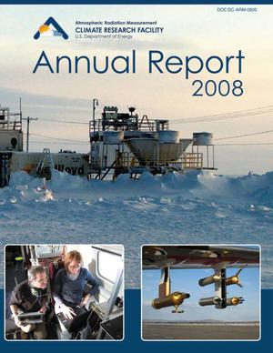 Primary view of object titled 'Atmospheric Radiation Measurement Climate Research Facility (ACRF) Annual Report 2008'.