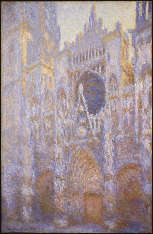 Primary view of object titled 'Rouen Cathedral'.
