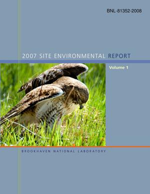Primary view of object titled '2007 Site Environmental Report'.