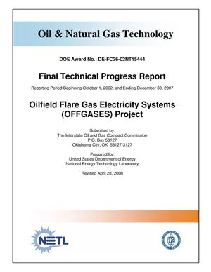 Primary view of object titled 'Oilfield Flare Gas Electricity Systems (OFFGASES Project)'.