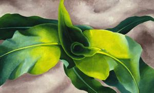 Primary view of object titled 'Green Leaves'.