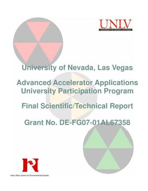 Primary view of object titled 'Advanced Accelerator Applications University Participation Program'.