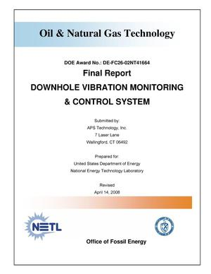 Primary view of object titled 'Downhole Vibration Monitoring and Control System'.