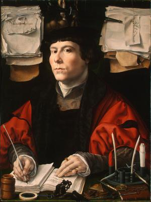 Primary view of object titled 'Portrait of a Merchant'.