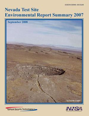 Primary view of object titled 'Nevada Test Site Environmental Report 2007 Summary'.