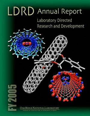 Primary view of object titled 'Laboratory Directed Research and Development Program FY 2005 Annual Report'.