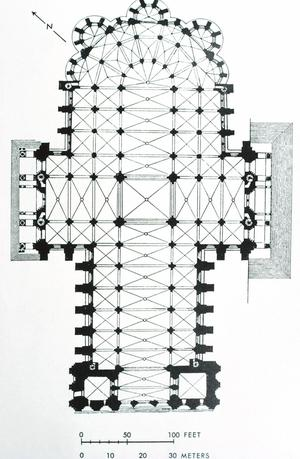 Chartres Cathedral, Plan