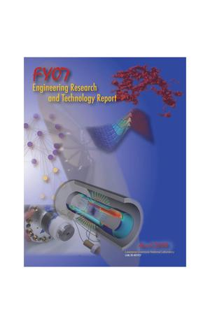 Primary view of object titled 'FY07 Engineering Research and Technology Report'.