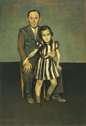 Joan Miró and His Daughter Dolores