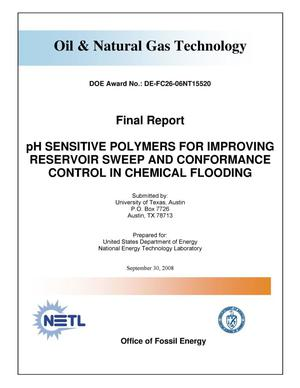Primary view of object titled 'PH Sensitive Polymers for Improving Reservoir Sweep and Conformance Control in Chemical Flooring'.