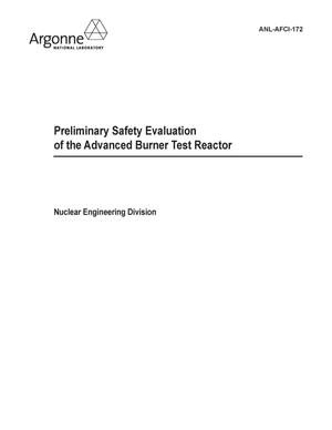 Primary view of object titled 'Preliminary safety evaluation of the advanced burner test reactor.'.