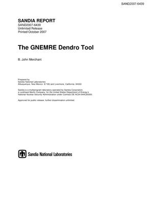 Primary view of object titled 'The GNEMRE Dendro Tool.'.