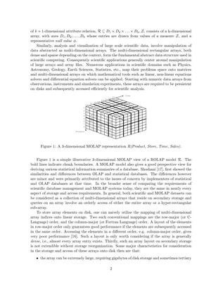 Optimal Chunking of Large Multidimensional Arrays for Data