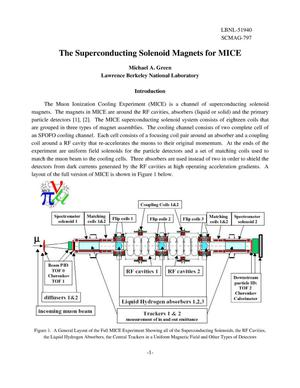 Primary view of object titled 'The superconducting solenoid magnets for MICE'.