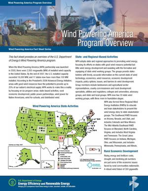 Primary view of object titled 'Wind Powering America Program Overview (Fact Sheet)'.