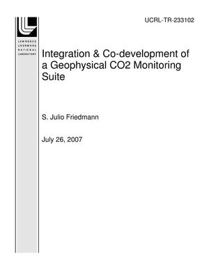 Primary view of object titled 'Integration & Co-development of a Geophysical CO2 Monitoring Suite'.