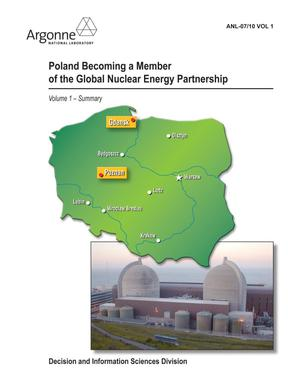 Primary view of object titled 'Poland becoming a member of the Global Nuclear Energy Partnership, Vol. 1.'.