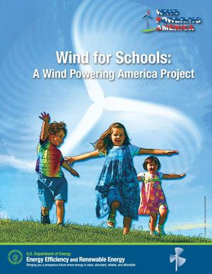 Primary view of object titled 'Wind for Schools: A Wind Powering America Project'.