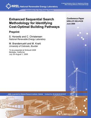 Primary view of object titled 'Enhanced Sequential Search Methodology for Identifying Cost-Optimal Building Pathways'.