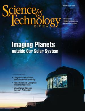 Primary view of object titled 'Science & Technology Review March/April 2008'.