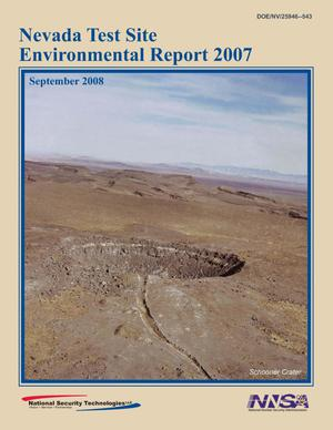 Primary view of object titled 'Nevada Test Site Environmental Report 2007'.