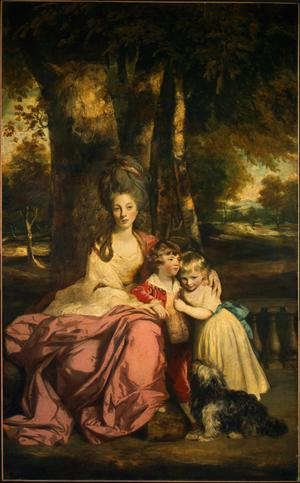 Primary view of object titled 'Lady Elizabeth Delmé and Her Children'.
