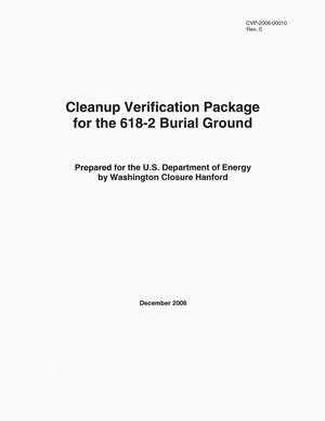 Primary view of object titled 'Cleanup Verification Package for the 618-2 Burial Ground'.