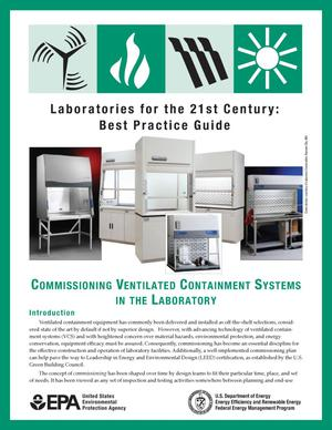 Primary view of object titled 'Commissioning Ventilated Containment Systems in the Laboratory'.