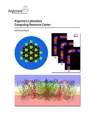 Primary view of object titled 'Argonne's Laboratory computing resource center : 2006 annual report.'.