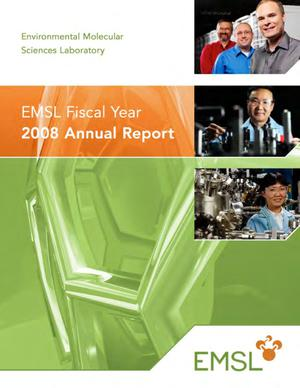 Primary view of object titled 'EMSL Fiscal Year 2008 Annual Report'.