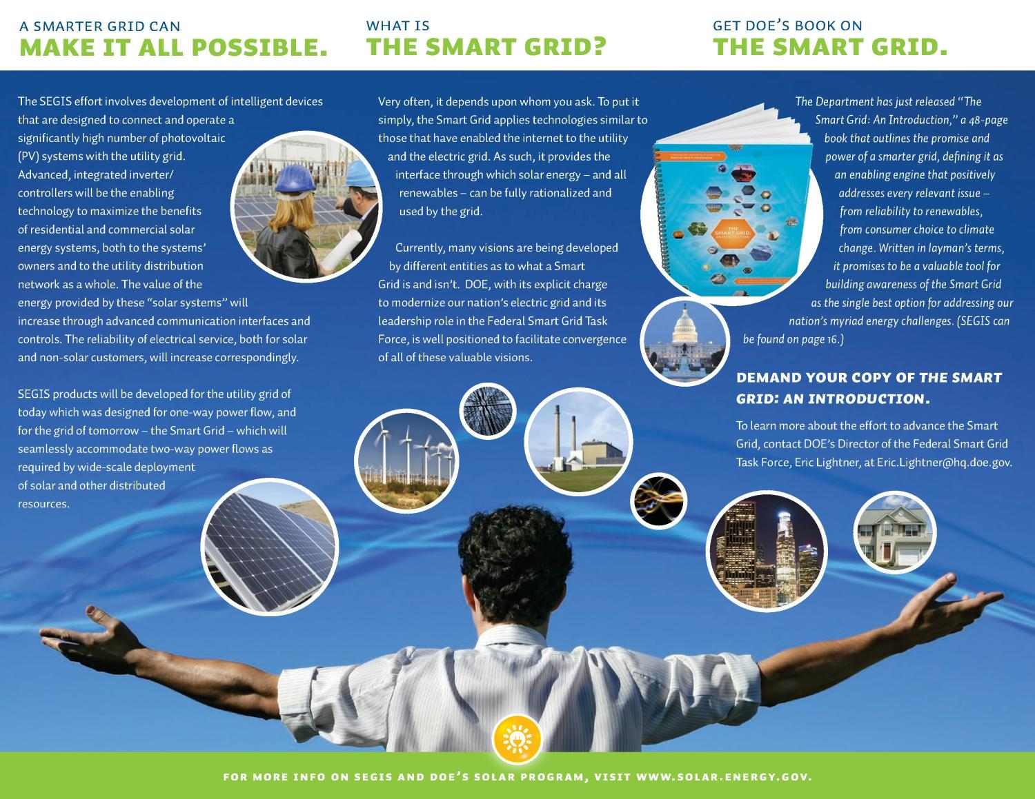 Promise of Solar Energy is Boundless: A Smarter Electric Grid Delivers on that Promise                                                                                                      [Sequence #]: 2 of 2