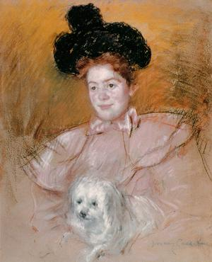 Primary view of Woman Holding a Dog