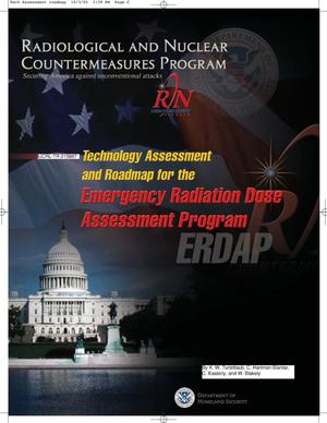 Primary view of object titled 'Technology Assessment and Roadmap for the Emergency Radiation Dose Assessment Program'.