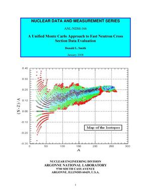 Primary view of object titled 'A unified Monte Carlo approach to fast neutron cross section data evaluation.'.