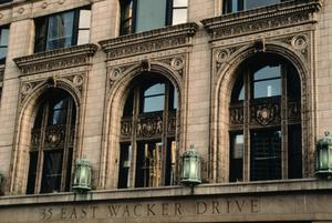 Primary view of object titled '[35 East Wacker Drive, Chicago, Illinois, United States]'.