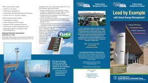 Primary view of object titled 'Lead by Example with Smart Energy Management FEMP (Revised Brochure)'.