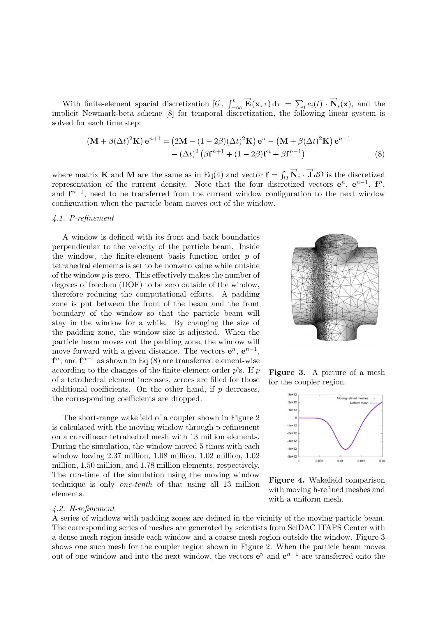 Computational Science Research in Support of Petascale Electromagnetic Modeling                                                                                                      [Sequence #]: 4 of 5
