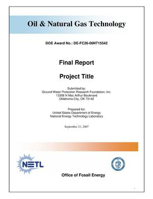 Primary view of object titled 'Facilitating Oil Industry Access to Federal Lands through Interagency Data Sharing'.