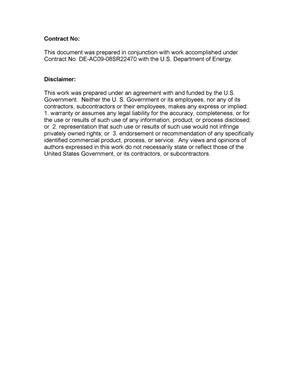 Primary view of object titled 'THE DOE OFFICE OF ENVIRONMENTAL MANAGEMENT INTERNATIONAL COOPERATIVE PROGRAM: CURRENT STATUS AND PLANS FOR EXPANSION'.