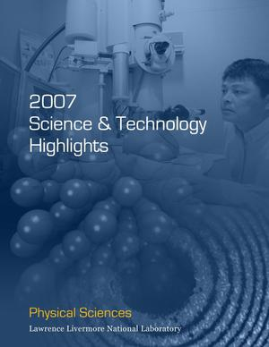Primary view of object titled 'Physical Sciences 2007 Science & Technology Highlights'.