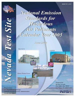 Primary view of object titled 'National Emission Standards for Hazardous Air Pollutants Calendar Year 2005'.