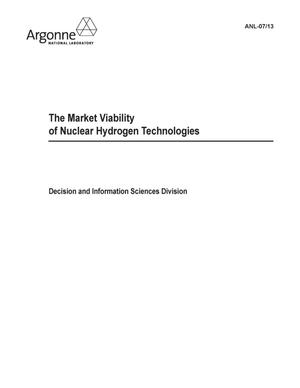 Primary view of object titled 'The market viability of nuclear hydrogen technologies.'.